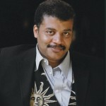 Neil DeGrass Tyson's twitter picture. Works as a link to their twitter page.