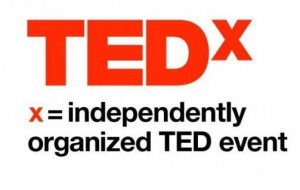 TEDx's twitter picture. Works as a link to their twitter page.